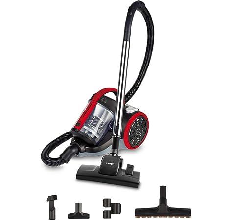 Ufesa AS2300 Activa - Aspirador Sin Bolsa, 900 W, Filtro Hepa, Tubos Telescópicos Metálicos, 1.5 litros, 83 Decibelios, Recogecables Automático: Amazon.es: Hogar