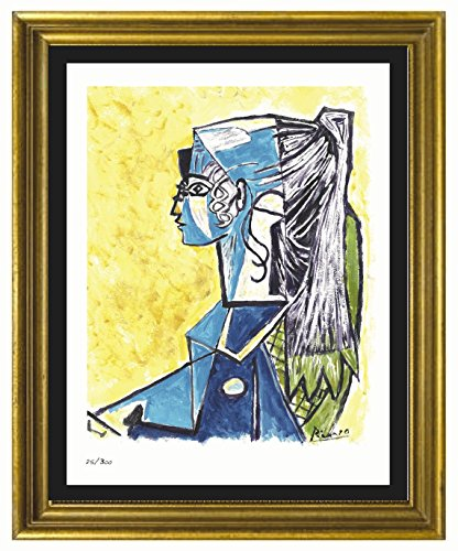(Pablo Picasso Signed & Hand-Numbered Limited Edition Lithograph Print,