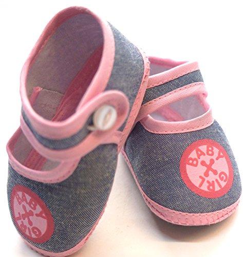 Leichte Babyschuhe Erstausstattung Neugeborene Krabellschuhe 0-4 Monate