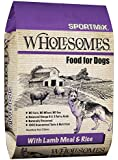 SPORTMiX Wholesome Lamb Meal and Rice Formula Dry Dog Food, 40-Pound Bag