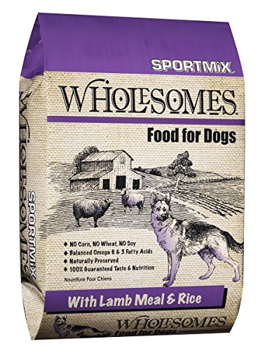 [SPORTMiX Wholesome Lamb Meal and Rice Formula Dry Dog Food, 40-Pound Bag] (40 Lb Bag)