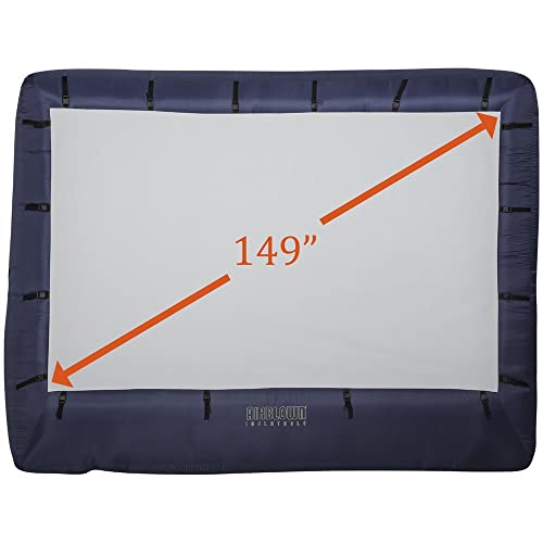 Airblown 39121-32 123 x 77-Inch Inflatable Movie Screen with Storage Bag