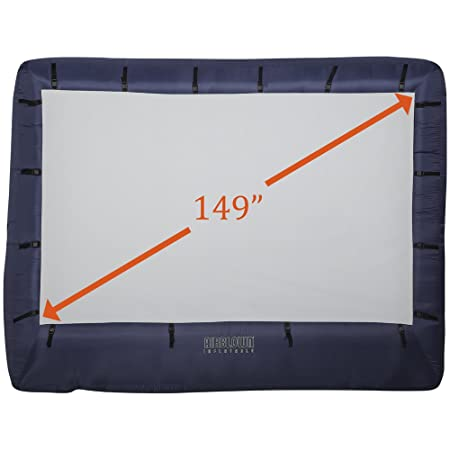 Gemmy 39121-32 Airblown Movie Screen Inflatable with Strage Bag, 149