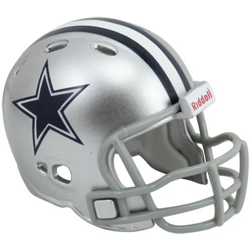 Dallas Cowboys Riddell Revolution Pocket Pro Football Mini Helmet -