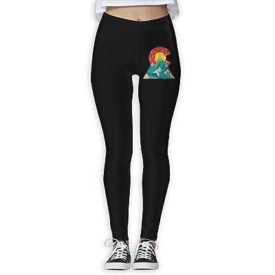 DDCYOGA Colorado Geo Women's Stretch Boot Leg Yoga Pants Exercise Gym Jogger Pants For Women