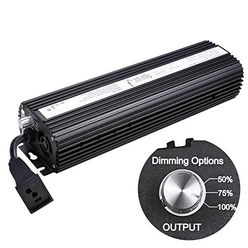 Yescom 1000W HPS MH Digital Electronic Dimmable Ballast Grow