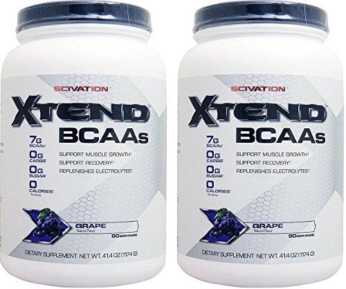 エクステンド (BCAA+Lグルタミン+シトルリン) ※グレープ風味 2個セット [海外直送品] [並行輸入品] B074FD2PGJ