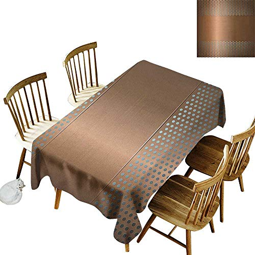 - Spotted rectangular tablecloth W54