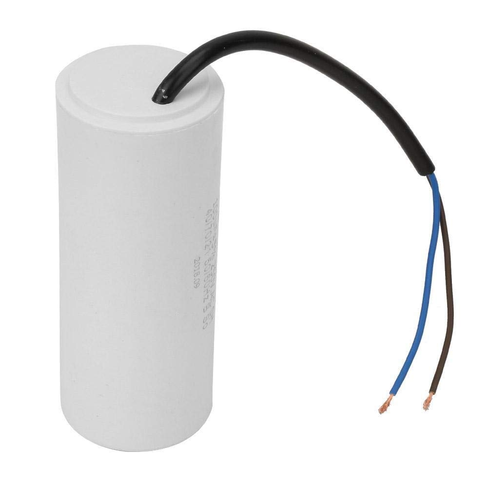 Universal 250V AC 100uF 50 CBB60 Betriebskondensator 60Hz Start Run Motorkondensatoren Wechselstromkondensator mit Kabel f/ür Motorluftkompressor
