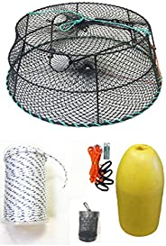 KUFA Sports Vinyl Coated Tower Style Prawn Trap with Prawn Trap Accessory Combo (CT78+PNS1+HA2)