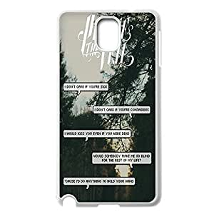 Innovation Design Band pierce the veil Quotes Hard Shell Phone Case Lightweight Printed Case Cover for Samsung Galaxy Note 3 N9000 White 022709