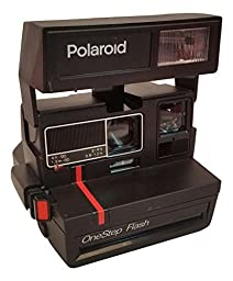 Polaroid One Step Flash 600 Instant Camera