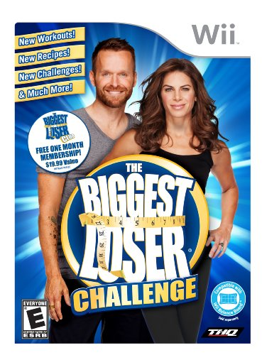 The Biggest Loser Challenge - Nintendo Wii (Michaels Fitness Jillian Wii)