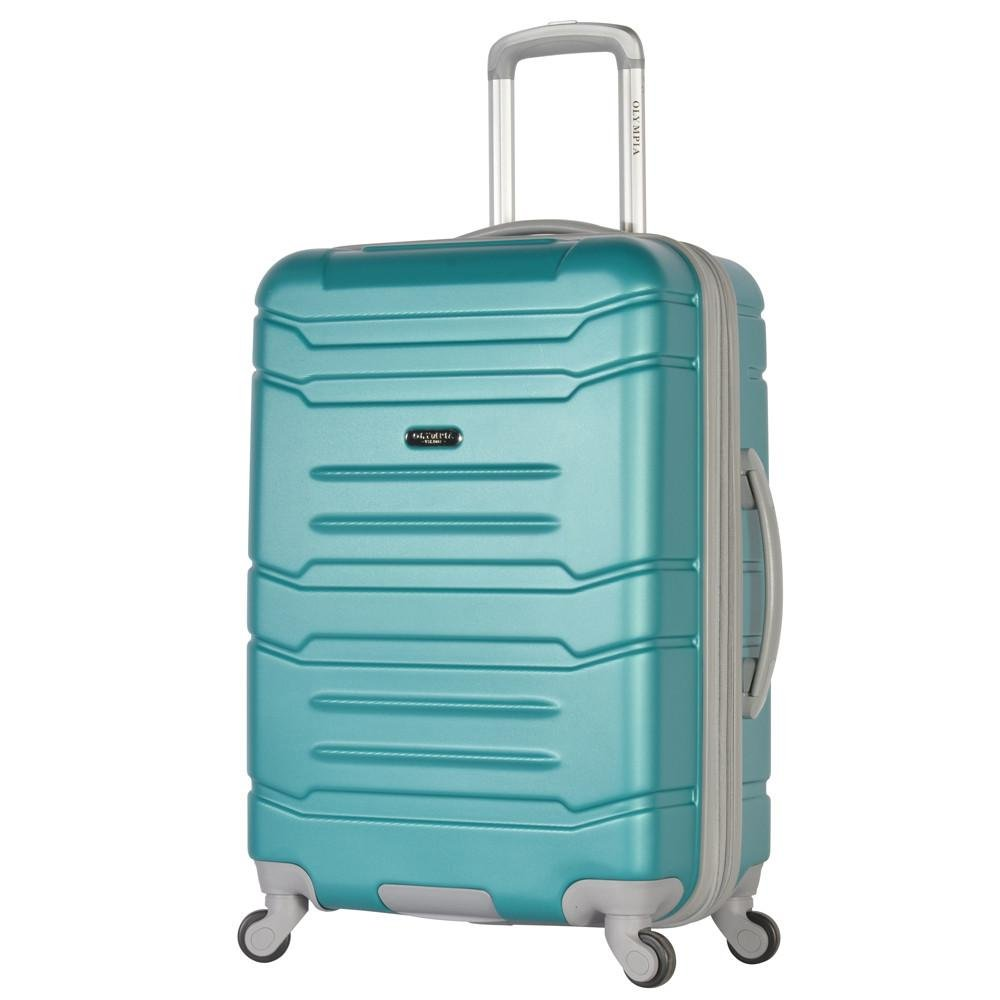 Olympia Denmark 21'' Carry-on Spinner, Teal