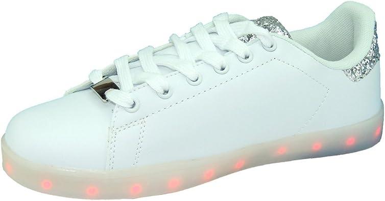 DEMAX lucor3 Zapatilla Deportivas Luces Led Recargables y Programables para Niños: Amazon.es: Zapatos y complementos
