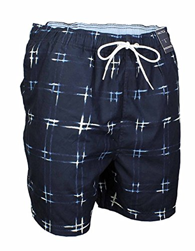 Nautica Print Trunk (Nautica Men's Quick Dry Swim Trunk Assorted Prints (2XL, True Navy))