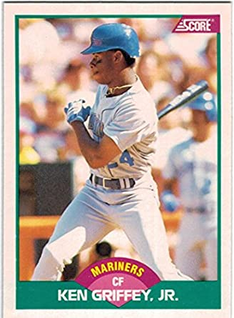 Amazoncom 1989 Score With Rookie Traded Seattle Mariners