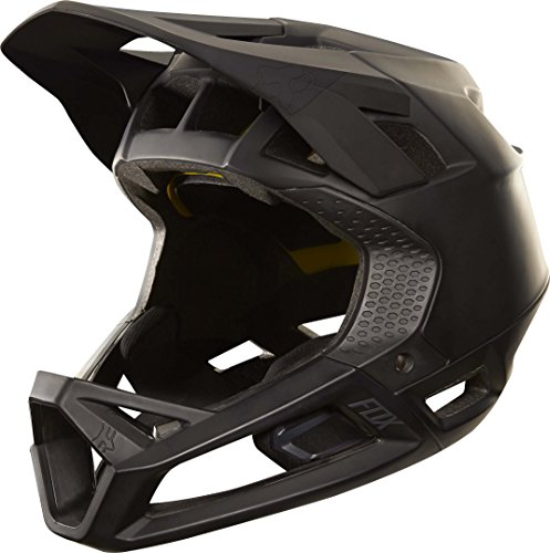 Fox Racing Proframe Helmet Matte Black, L - Racing Bicycle Helmet
