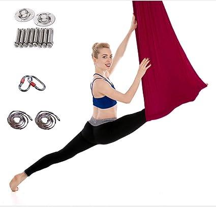 QDDA Hamaca de Yoga Modelo Saludable, Kit de Trapecio para ...