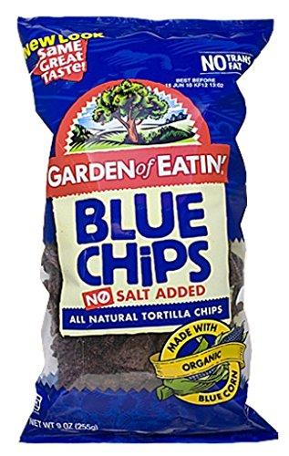 GARDEN OF EATIN CHIP TRTLA BLUE CORN PARTY ORG, 16 OZ ()