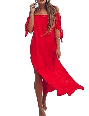 Doufine--women clothes Vestido de chándal para Mujer, sin balanceo ...