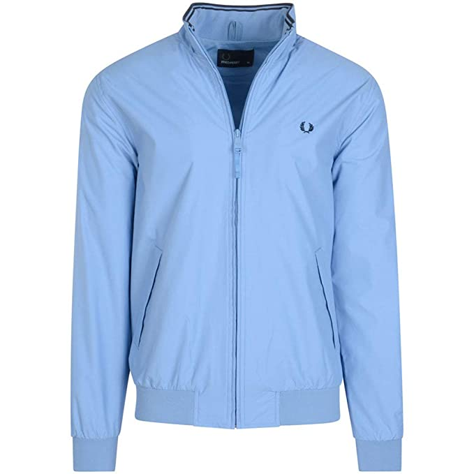 Fred Perry Hombres Chaqueta brentham j5512 444 Azul: Amazon ...
