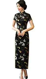 a89ac004a86ae Shanghai Story Chinese Traditional Clothing Long Cheongsam China Qipao Dress