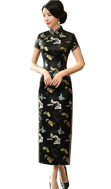 Amazon.com: Shanghai Story Chino Tradicional Ropa Larga ...
