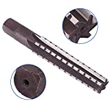 1 Pcs MT3 Straight Shank Morse Taper Reamer, Walfront High Speed Steel Finishing Reamer 148 × 16 × 20mm