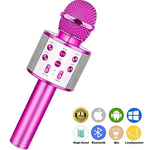 Wireless Bluetooth Karaoke MicrophoneRechargeable
