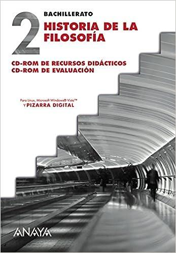 Historia de la Filosofía. CD-ROM de Recursos didácticos. CD ...