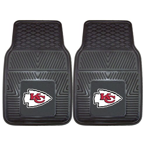 Nfl Heavy Duty Vinyl Car Mats  Pack