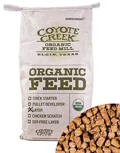 (COYOTE CREEK ORGANIC FEED MILL 285 Egg Layer Crumbles )