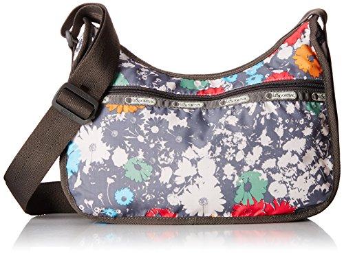LeSportsac Classic Hobo Handbag, Chroma Flower, One Size