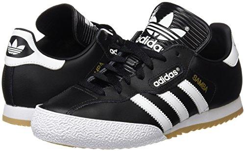 Chaussures Blanc De noir Samba Hommes Pour Fitness Super Adidas Noir BTfnqBrW