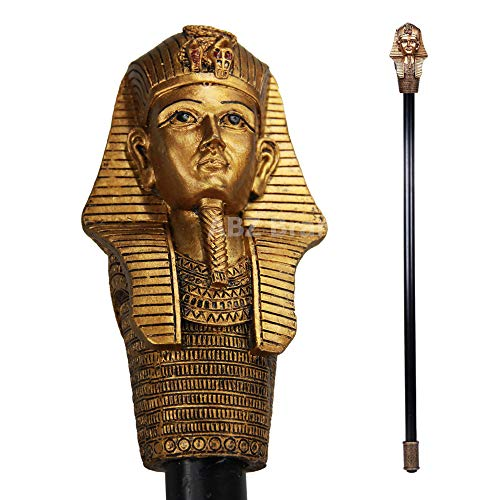 ABZ Brand King TUT Ancient Egyptian Pharaoh Decorative Walking Cane 36
