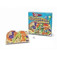 3D serpientes y escaleras