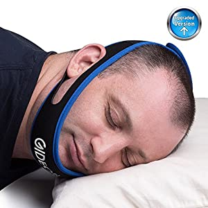 Gideon Adjustable Anti-Snoring Chin Strap - Instant Stop Snoring Solution - Natural Snore Relief - Fast and Simple [UPGRADED VERSION] from Gideon