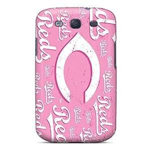 Galaxy High Quality Tpu Case/ Cincinnati Reds KyXPRkN6820zIaTw Case Cover For Galaxy S3