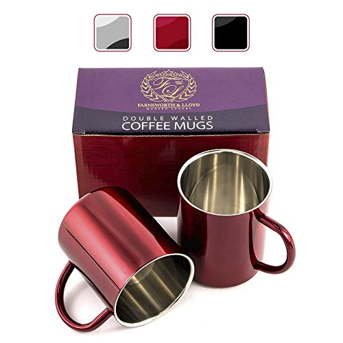 Stainless Steel Double Coffee 12 Ounce product image