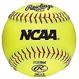 Rawlings NCAA Training Softball, NC11S (Pack Of 12)
