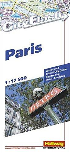 Paris (Rand McNally Cityflash Visitor Maps)
