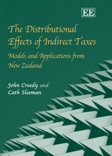 Download The Distributional Effects of Indirect Taxes: Models And Applications from New Zealand PDF