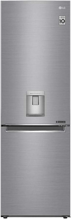 LG GBF61PZJZN nevera y congelador Independiente Platino 336 L A++ ...