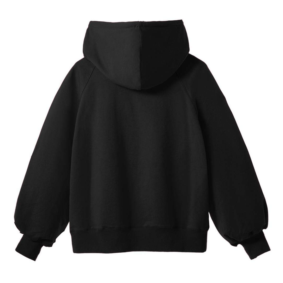 ZYEE Clearance Women Lantern Sleeve Sweater Womens Long Sleeve Loose Thin Hooded Blouse at Amazon Womens Clothing store:
