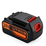 Masione 20v Max 4.0Ah Lithium Ion Extended Battery for Black & Decker LBXR20 LBXR20-OPE LB20 LBX20 LBX4020 LB2X4020-OPE Cordless Tools