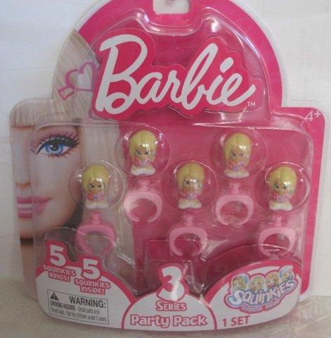 Squinkies: Barbie Party Pack Seires 3