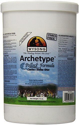 Wysong Archetype Pollock Formula Canine Feline Diet, 7.5-Ounce by Wysong