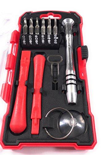 Bonafide Hardware - Smart Phone Repair Tool Kit 17 Piece Set Screw Driver Torx Pentalobe Cell Tools by Bonafide Hardware (Image #1)
