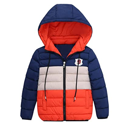 a4da052ec1bd Amazon.com  2-7 Years Boys Winter Warm Coats